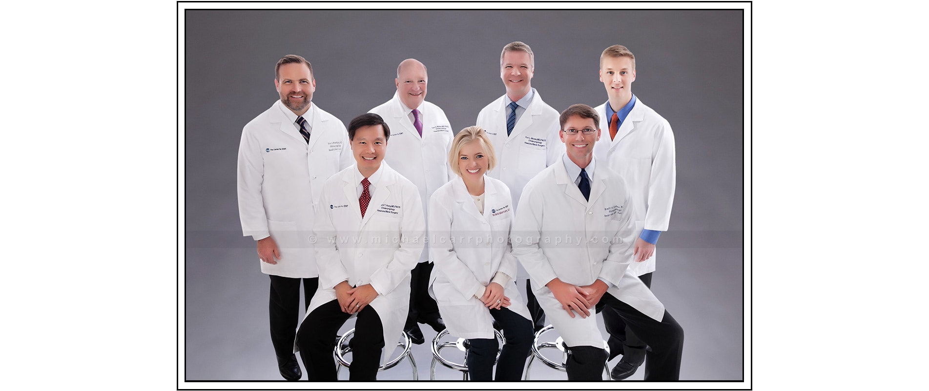 Professional Physican Group Portrait