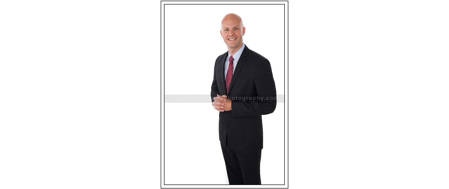 Business Portrait on White