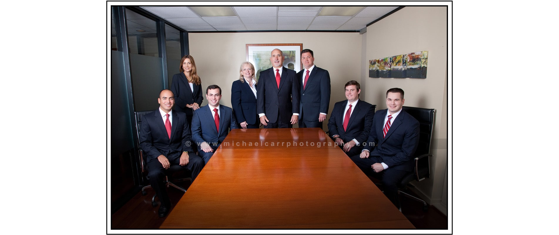 Group Business Portraits in Houston