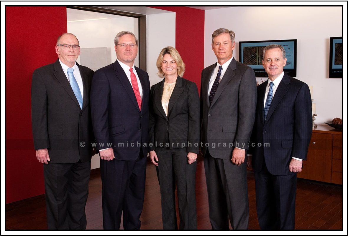 Office Board of Directors On Location Executive Portraits