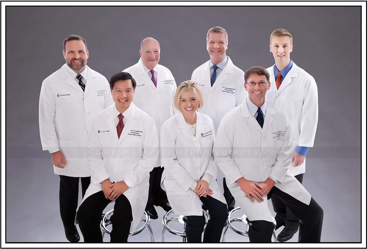 Medical Group Photography in Houston