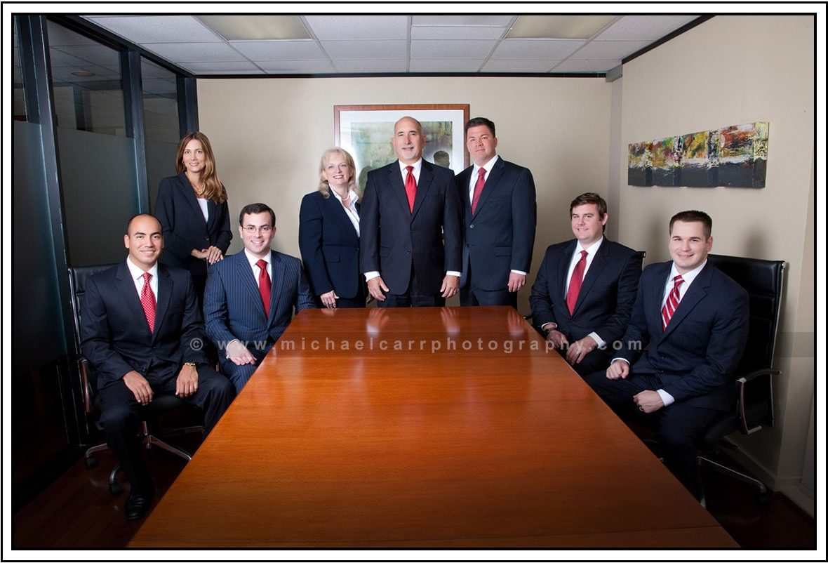 Group Business Photography in Houston