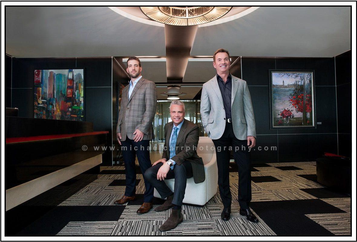 On Location Executive Leadership Portraits