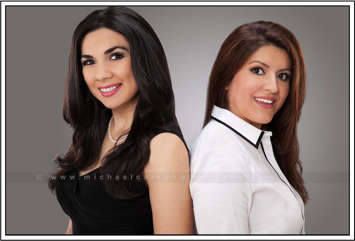 Two Business Ladies Portrait Photography