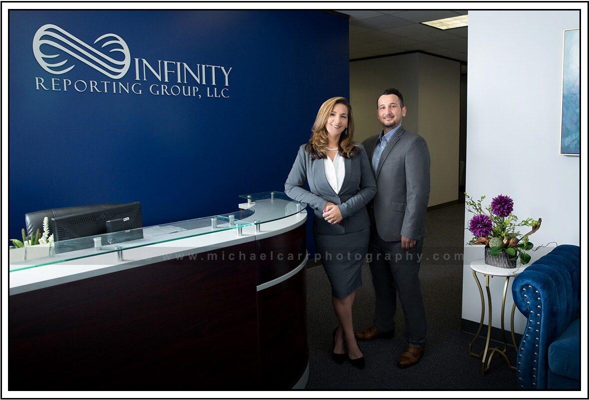Large Company Group Portrait Photography