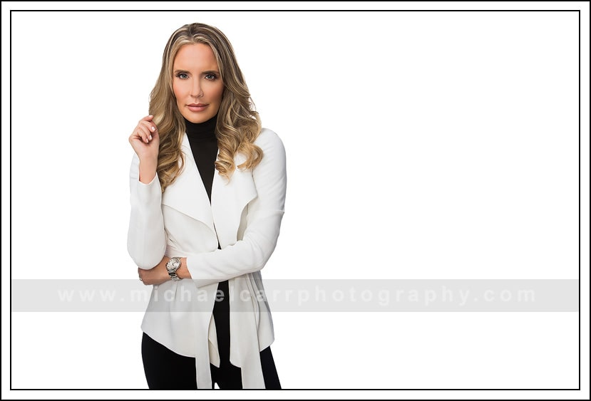 business headshot female