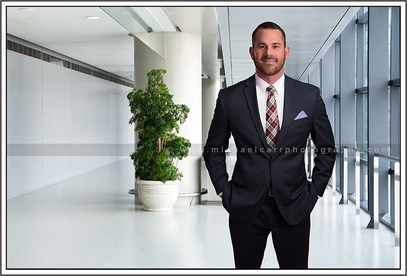 Business 3/4 with Office Background